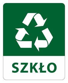 Naklejki na kosze - segregacja odpadów