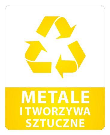 Naklejki na kosze - segregacja odpadów (1)