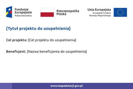 Tablica unijna Polska Wschodnia