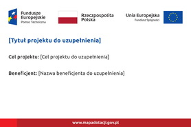 Tablica unijna Pomoc techniczna