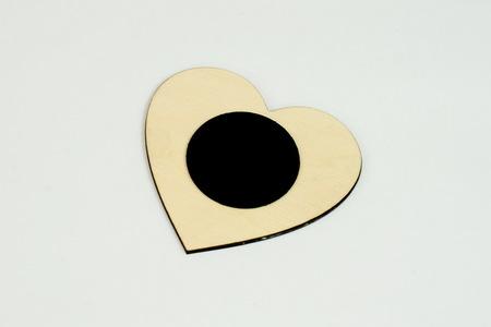 Drewniany magnes na lodówkę
